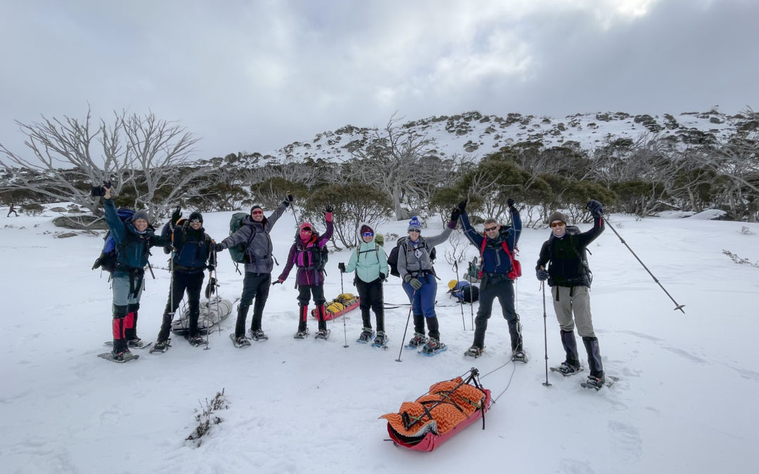 Clamp on your crampons…in Australia?